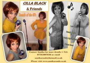 Cilla Black poster